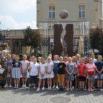 wizyta trzecioklasistów w Gazecie Krotoszyńskiej