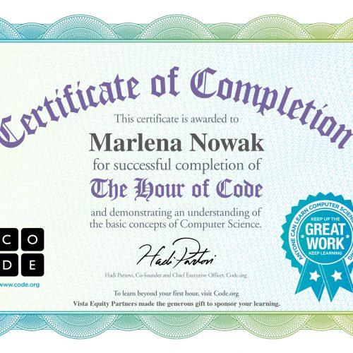 certyfikat kodowanie