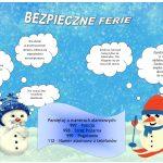 Bezpieczne ferie zimowe 2020