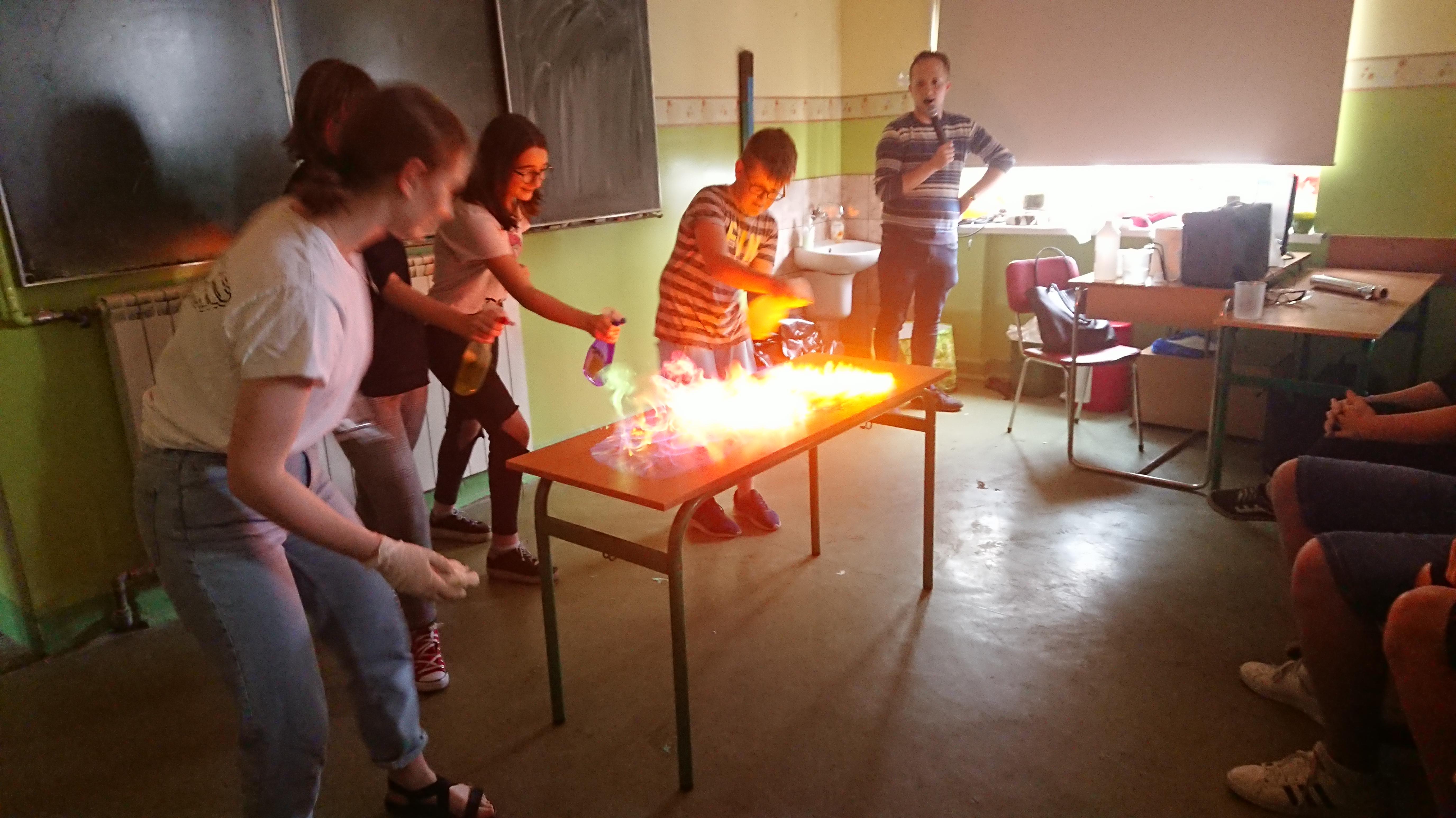 Warsztaty Chemii w Małej Skali