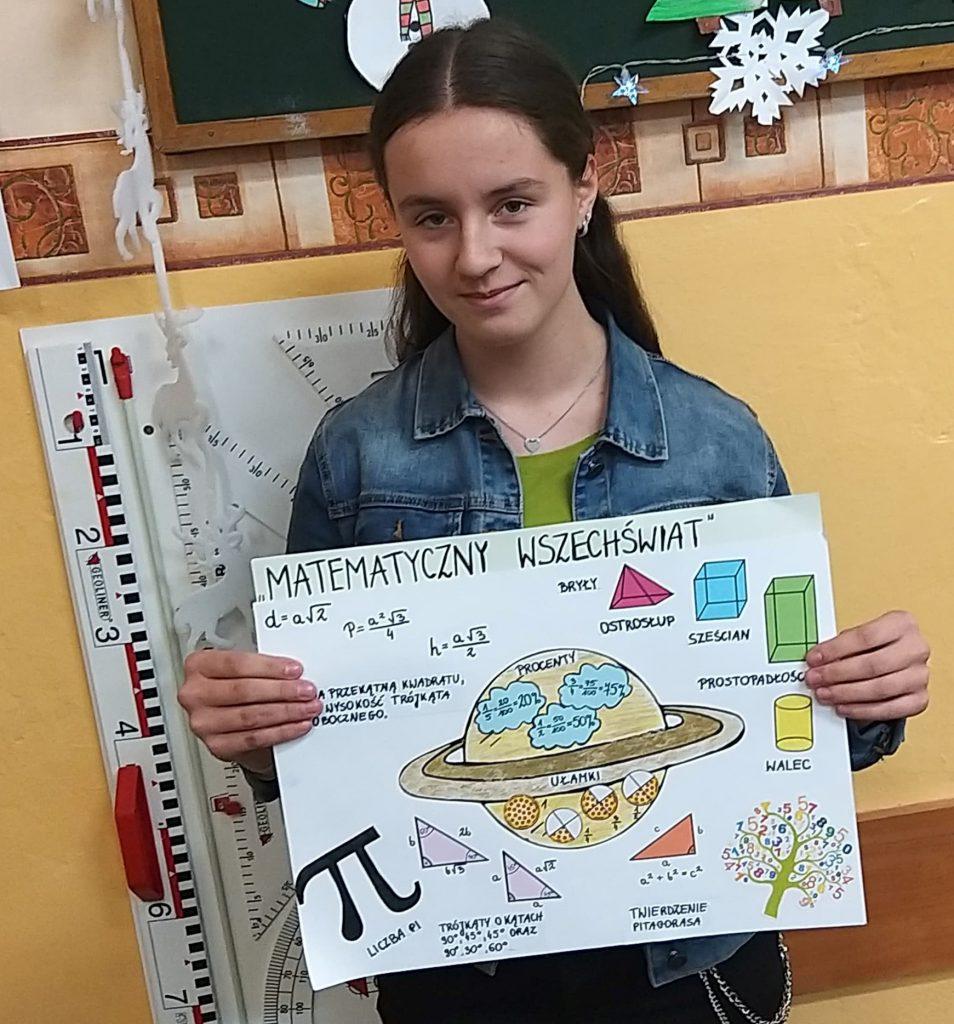 """Ogólnopolski konkurs matematyczno-plastyczny """"Matematyczny wszechświat"""""""