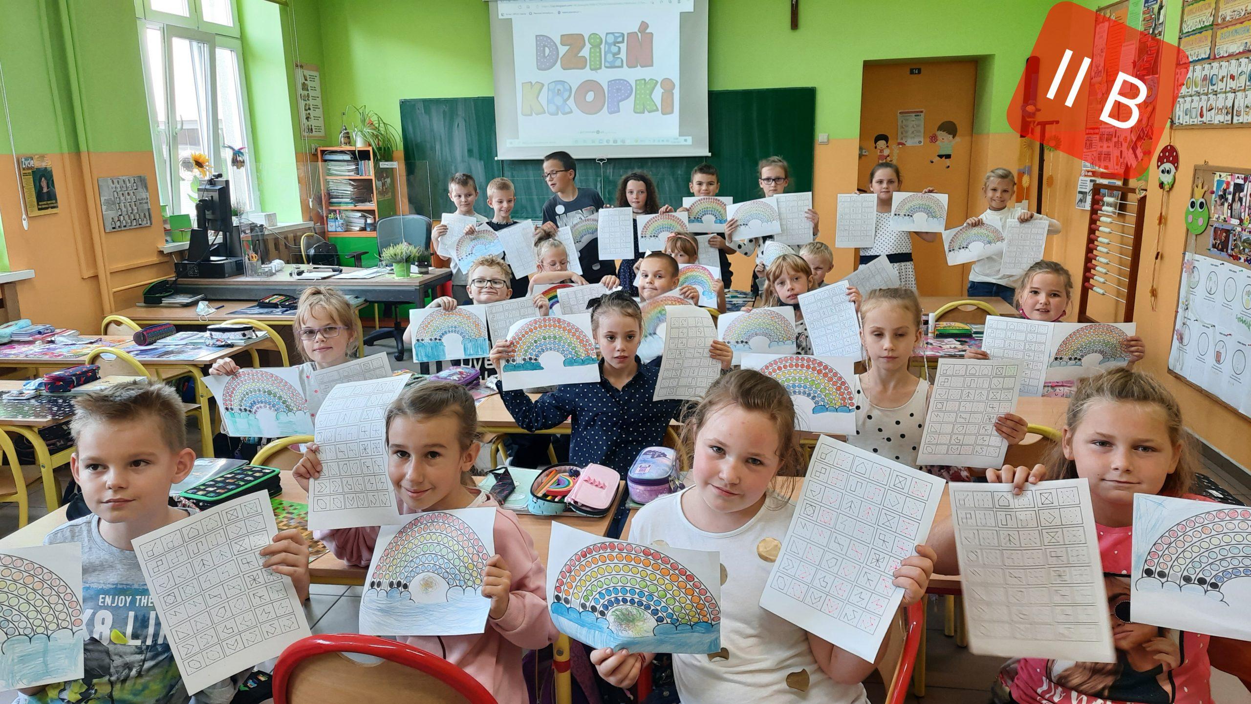 Dzień Kropki w klasach I-III