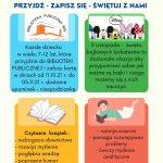 ZAPRASZAMY DO ZAPSÓW W BIBLIOTECE PUBLICZNEJ